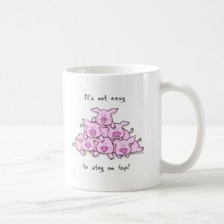 Pig Pyramid Coffee Mug
