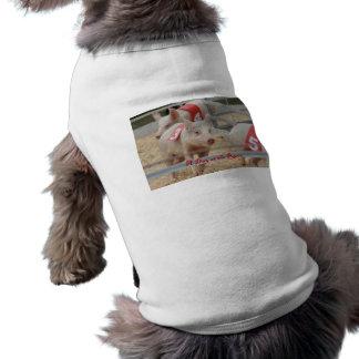 Pig racing, Pig race photograph, pink pig T-Shirt