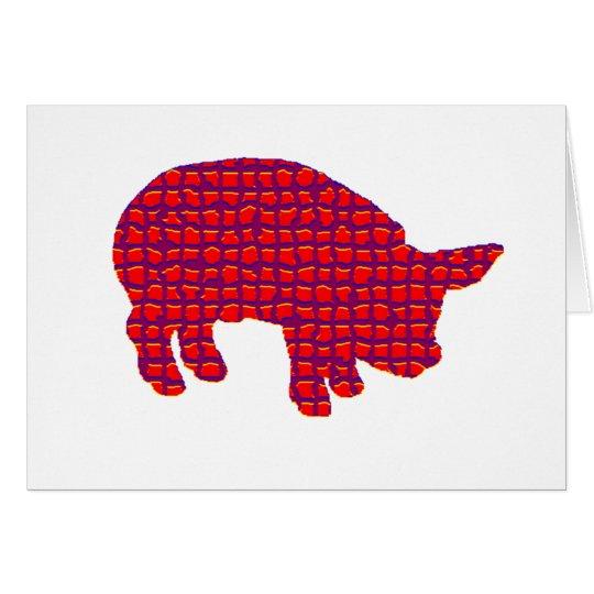 Pig Reddd Card
