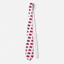 Pig Reddd Tie
