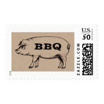 Pig Roast BBQ Stamps