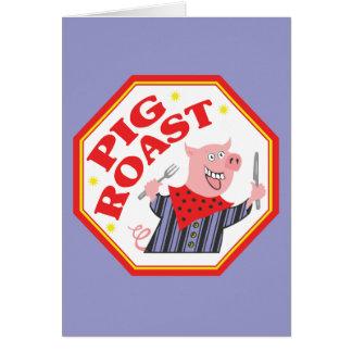 Pig Roast Card