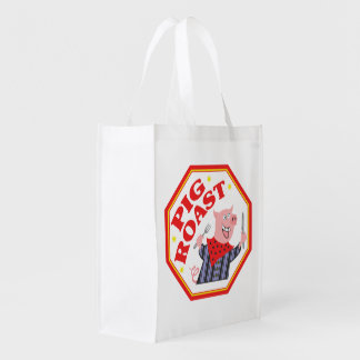 Pig Roast Grocery Bag