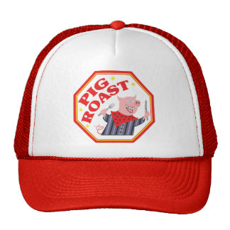Pig Roast Trucker Hat