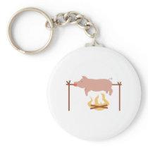 Pig Roast Keychain