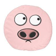 Pig Round Pouf