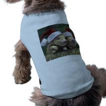 Pig santa claus - christmas pig - three pigs T-Shirt