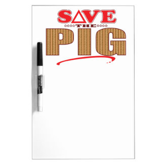 Pig Save Dry-Erase Board