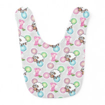 Pig Sheep Baby Bib