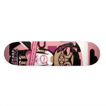 pig skateboard deck