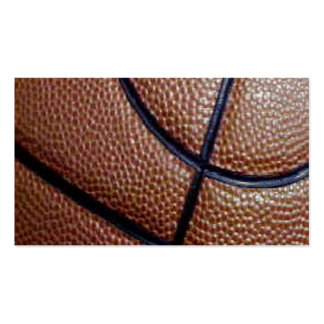 Pig skin basketball pattern with lines business cards