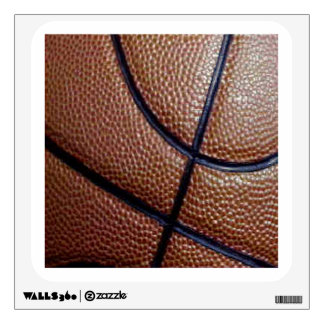 Pig skin basketball pattern with lines wall sticker