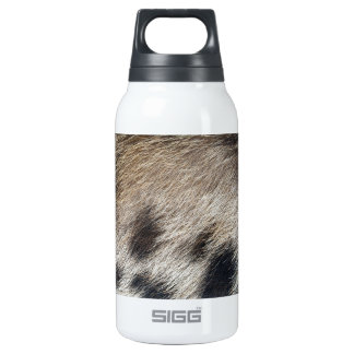 Pig Skin Hair Insulated Water Bottle