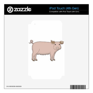 pig skins for iPod touch 4G