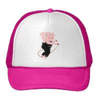 Pig Skipping Hats
