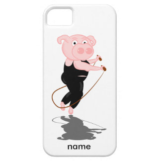 Pig Skipping iPhone SE/5/5s Case