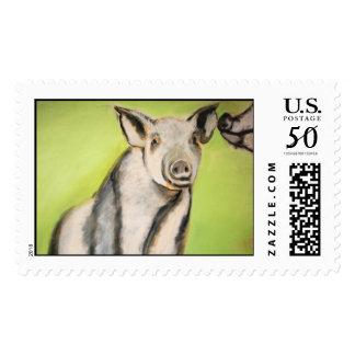 Pig Stamp