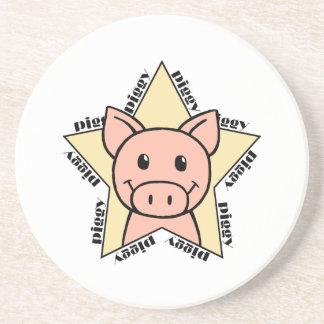 Pig Star Coasters