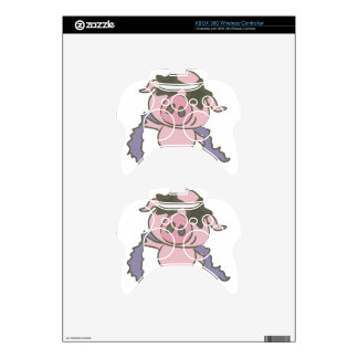 Pig Star Xbox 360 Controller Decal
