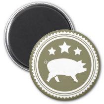 Pig & Stars Magnet