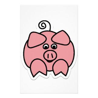 pig stationery
