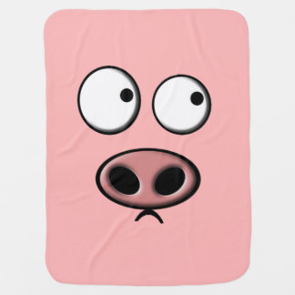 Pig Swaddle Blanket