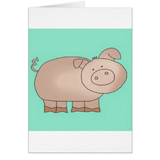 PiG TAiLs Card