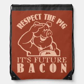 PIG TO BACON custom color bag