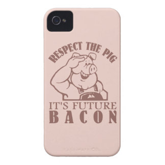 PIG TO BACON custom color Blackberry case
