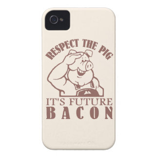 PIG TO BACON custom color iPhone case-mate iPhone 4 Case