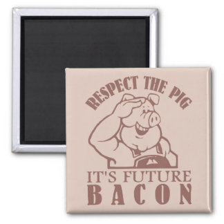 PIG TO BACON custom color magnet