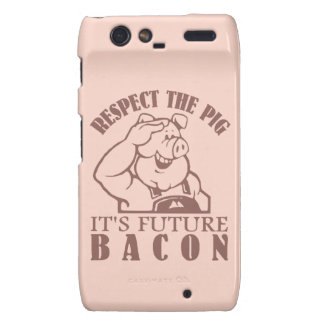 PIG TO BACON custom color Motorola case Droid RAZR Cover