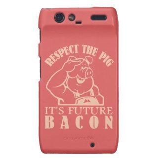 PIG TO BACON custom color Motorola case Motorola Droid RAZR Covers