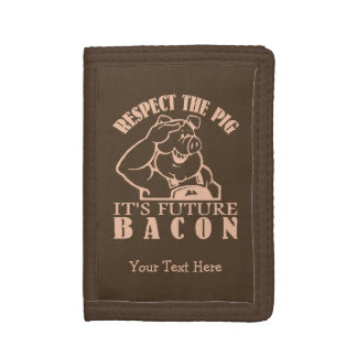 PIG TO BACON custom color wallets