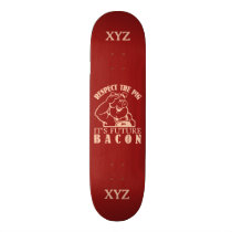 PIG TO BACON custom skateboards