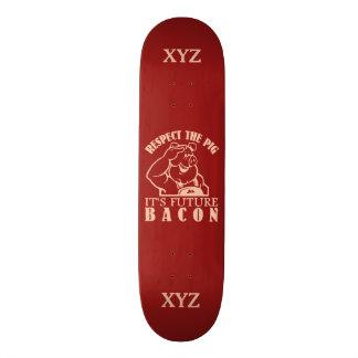 PIG TO BACON custom skateboards