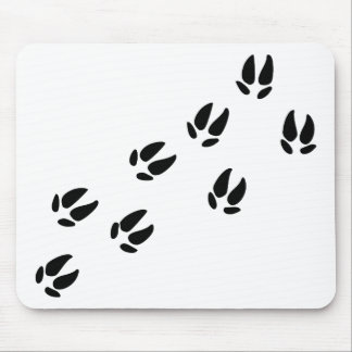 Pig - Tracks Mouse Pad