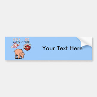 Pig Vacuum Oink 200 ~ Funny New Gift Car Bumper Sticker