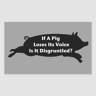 Pig Voice Stickers