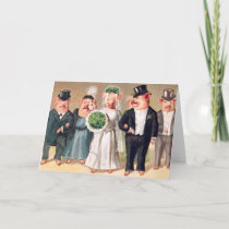 Pig Wedding Card