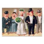 Pig Wedding Greeting Cards