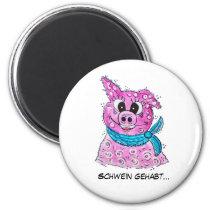 Pig with loop magnet
