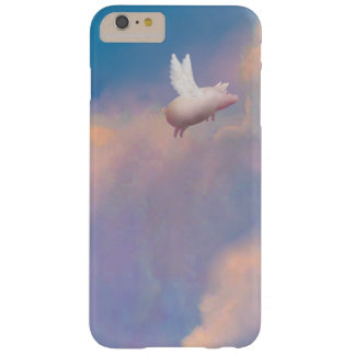 pig with wings barely there iPhone 6 plus case