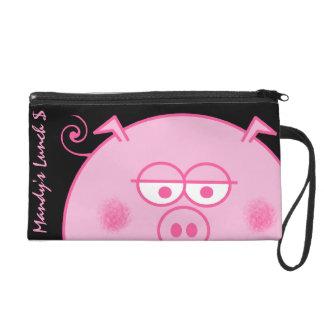 Pig Wristlet