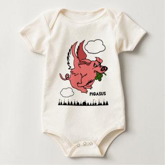 Pigasus Baby Bodysuit