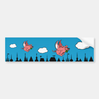 Pigasus Bumper Sticker