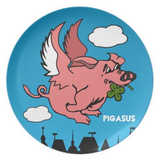 Pigasus Dinner Plates