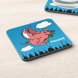Pigasus Drink Coaster