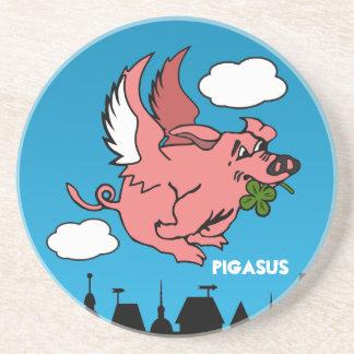 Pigasus Drink Coasters