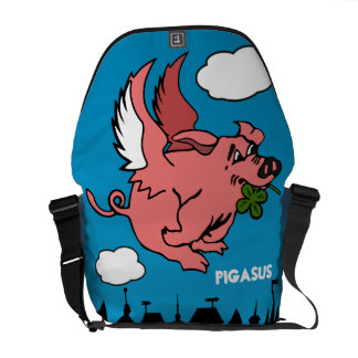 Pigasus Messenger Bag